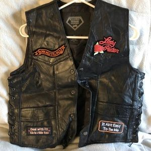 Motorcycle riding vest size Small